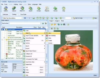 MyBusinessCatalog Gold 5.0.7 screenshot