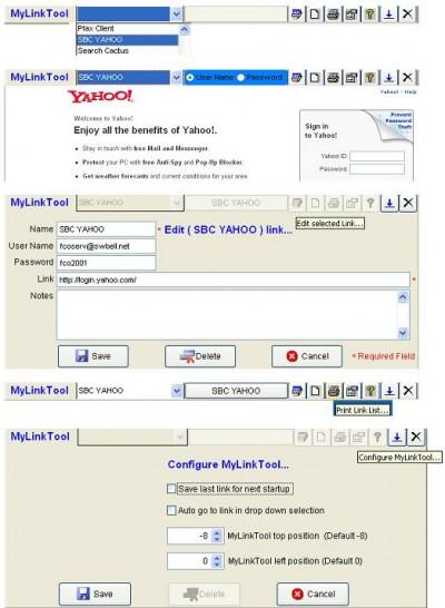 MyLinkTool 1.10 screenshot
