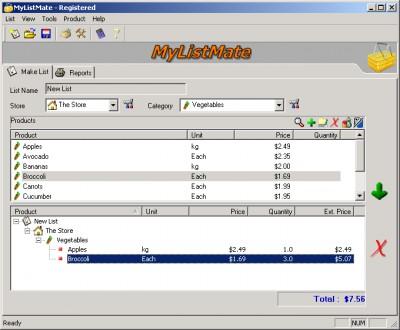 MyListMate 2.50.2 screenshot