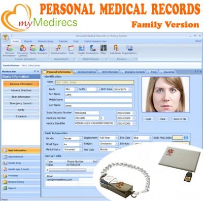 myMedirecs Personal Health Records 2.6.3 screenshot