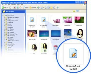MyPCDrive 1.0.69 screenshot