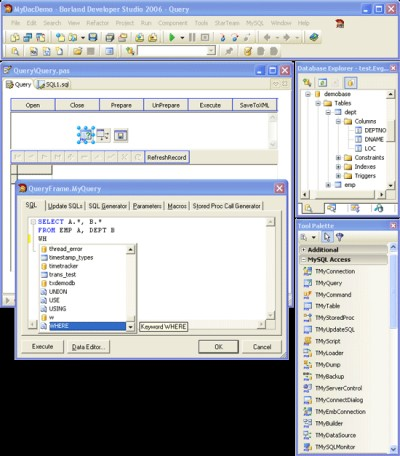 MySQL Data Access Components 10.1 screenshot