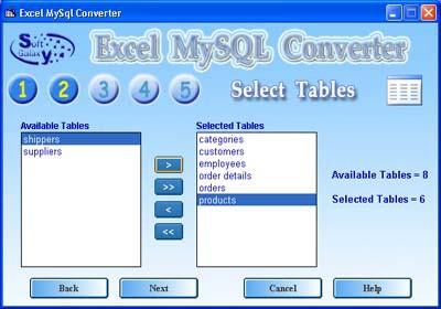MySQL Excel 3.0 screenshot