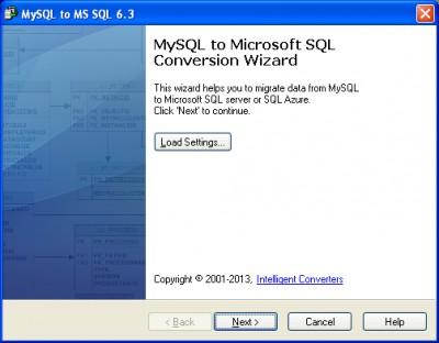 MySQL-to-MSSQL 6.3 screenshot