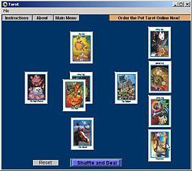 Mystic Eye Tarot 1.0 screenshot