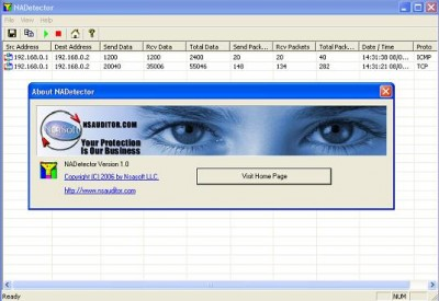 NADetector 1.5.8 screenshot