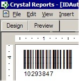 Native Barcode Generator for Crystal Reports 2006 screenshot