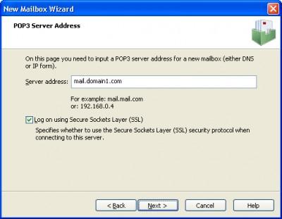 Native POP3 Connector 2.6.0 screenshot