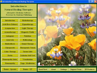 Natural Healing Introduction 2.7 screenshot