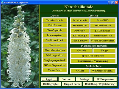 Naturheilkunde 4.3 screenshot