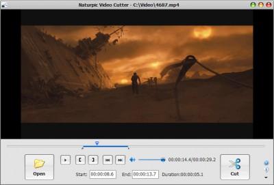 Naturpic Video Cutter 9.0 screenshot
