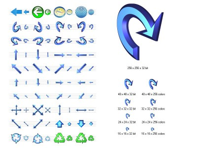 Navigation Icon Set 2.8 screenshot