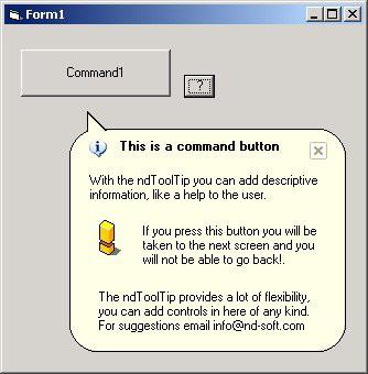 Neodeck Tool Tip Control 1.0 screenshot