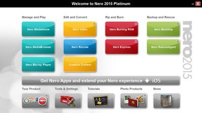 Nero Platinum 23.5.1010 screenshot