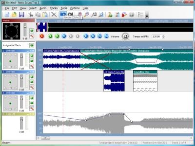 Nero SoundTrax 2016 screenshot