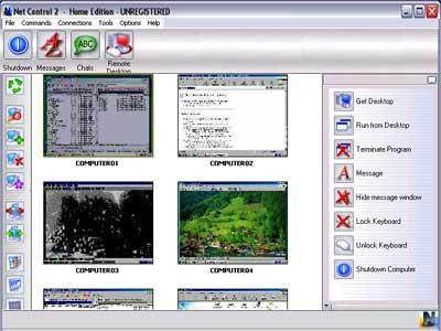 Net Control 2 Home Edition 6.0 screenshot
