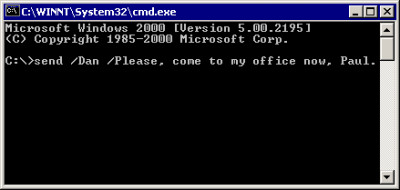 Net-Send command 1.1.467 screenshot