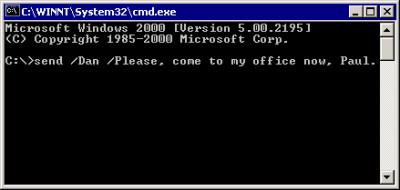 Net-Send command 1.1.420 screenshot
