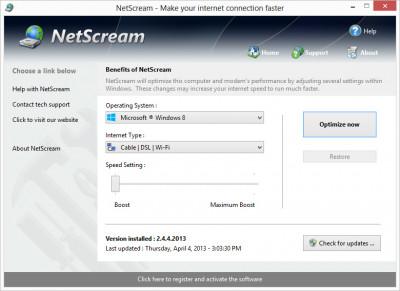 NetScream 2.5.20.201 screenshot