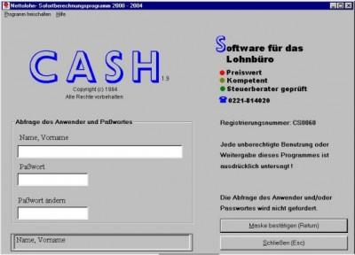 Nettolohn- Sofortberechnungsprogramm 2.42 screenshot