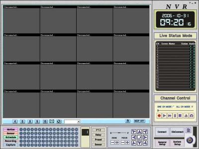 network Camera Command Center 3.0 screenshot