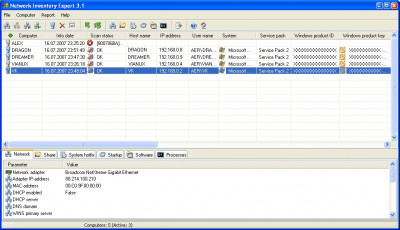 Network Inventory Expert 3.9 screenshot