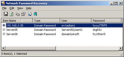 Network Password Recovery 1.50 screenshot