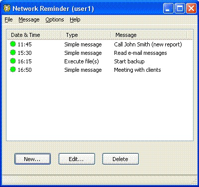 Network Reminder 1.3.1 screenshot