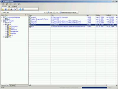 Network Searcher 3.7.0 screenshot
