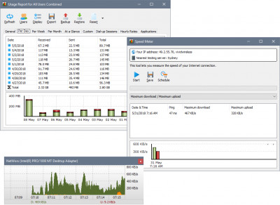 NetWorx 6.2.5 screenshot