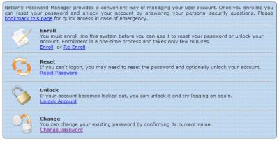 Netwrix Password Manager 6.642.849 screenshot