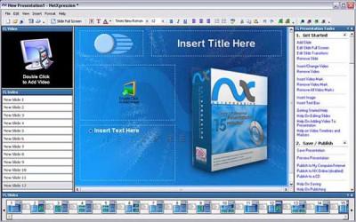 Netxpression Webinar Builder 3.7.5 screenshot