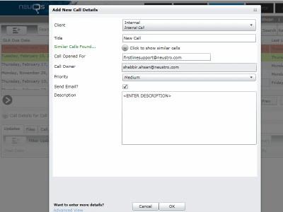 NeuQs Help Desk 2.01 screenshot