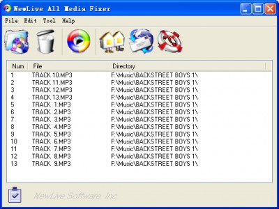 NewLive  All Media Fixer Pro 9.13 screenshot
