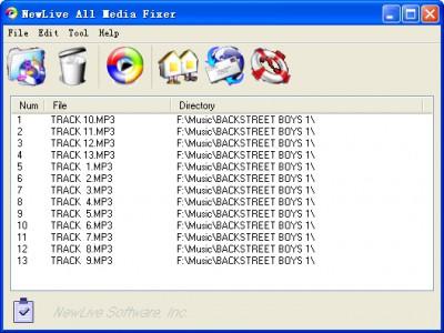 NewLive  All Media Fixer Pro 9.13 screenshot