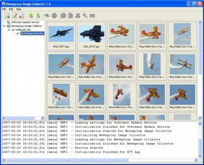 Newsgroup Image Collector 2.11 screenshot