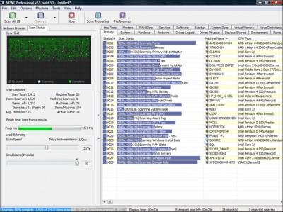 NEWT Professional Network Inventory 2.5.356 screenshot