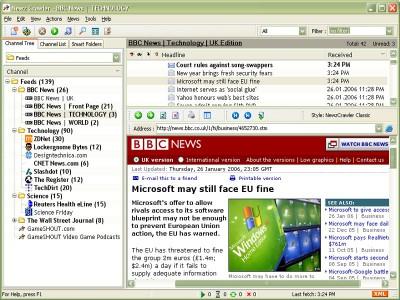 NewzCrawler 1.9 screenshot