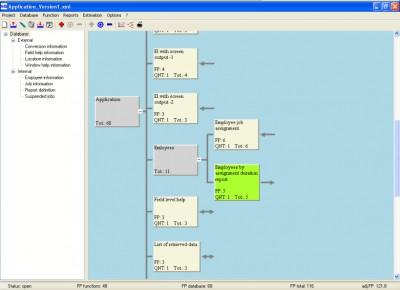 NH's Function Point Analyzer 1.0 screenshot