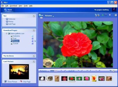 Nici Picture Downloader 2.10 screenshot
