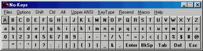 No-Keys 7.0.0 screenshot