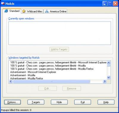 NoAds 2006.07.09 screenshot