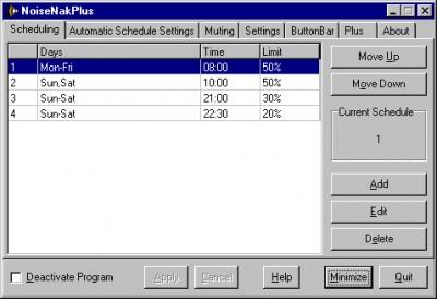NoiseNakPlus 2003 V2.0. screenshot