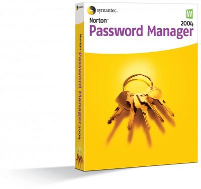 Norton Password Manager 2004 screenshot