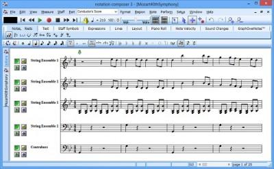 Notation Composer 3.1.1 screenshot