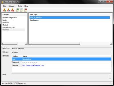 NoteGuardian 15.3.0 screenshot