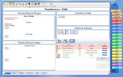 Notesbrowser Deutsch 2.0.0 screenshot