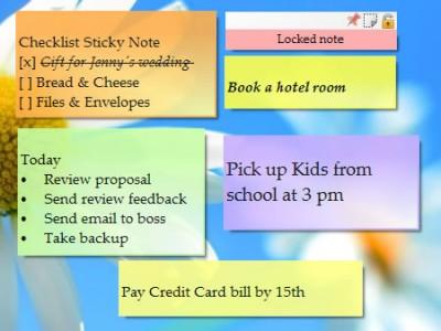 Notezilla Portable 8.0.18 screenshot