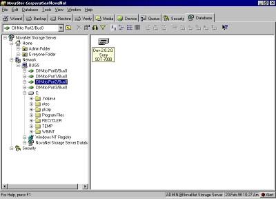 NovaNET 9 for NetWare 9.0 SP7D screenshot