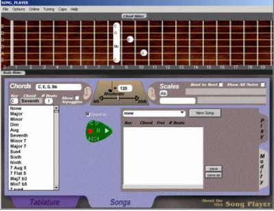 NSA Song Player 1.22 screenshot